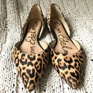 Sam Edelman Rodney Leopard Flats